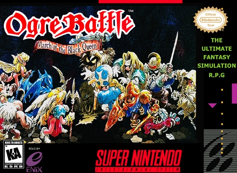 Image result for ogre battle march of the black queen