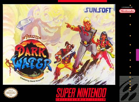 Pirates Of Dark Water Snes Super Nintendo