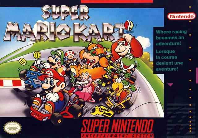 Image result for Super Mario Kart SNES