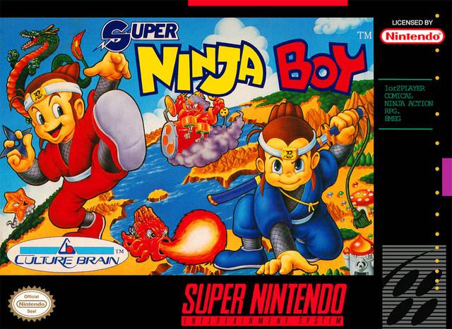 Super Ninja Boy Snes Super Nintendo