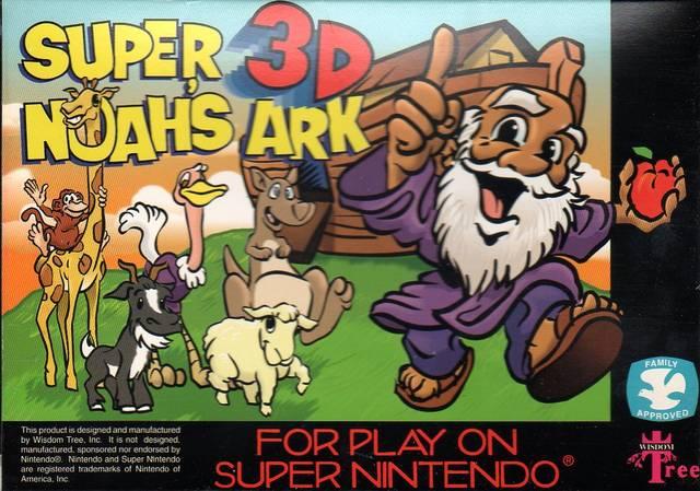 Super Noah S Ark 3 D Snes Super Nintendo