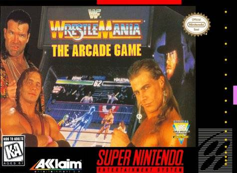 Wwf Wrestlemania The Arcade Game Snes Super Nintendo