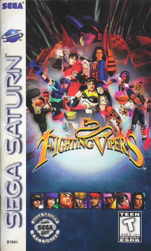 fighting vipers sega saturn game