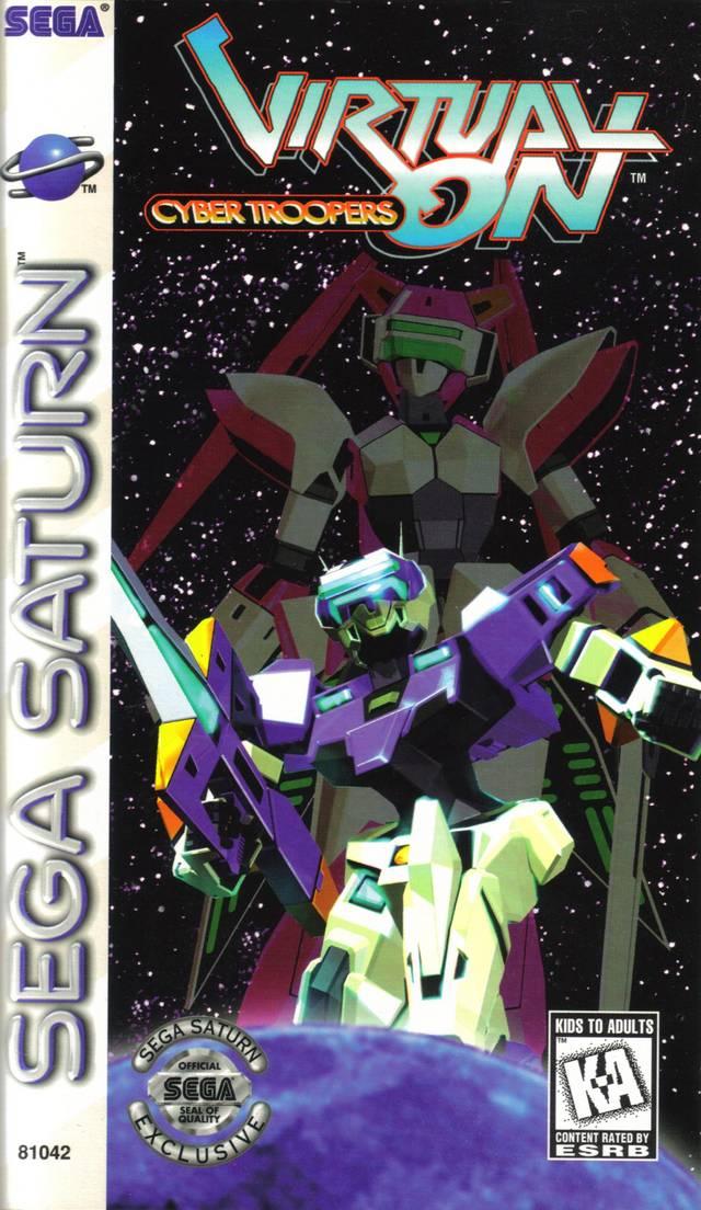 Virtual on cyber troopers sega saturn game - Sega saturn virtual console ...