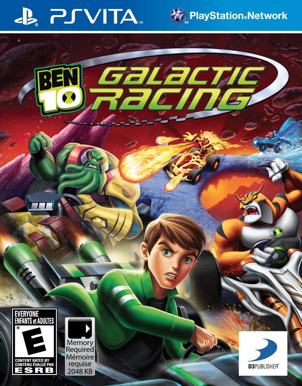 Ben 10: Galactic Racing - Playstation Vita Game