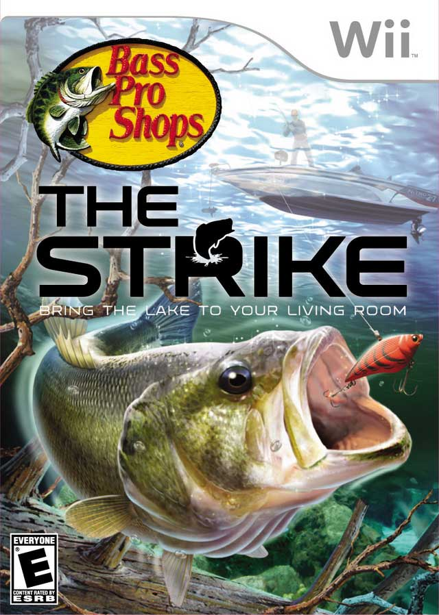 Bass pro shops the strike nintendo wii game for Bass pro shop fishing
