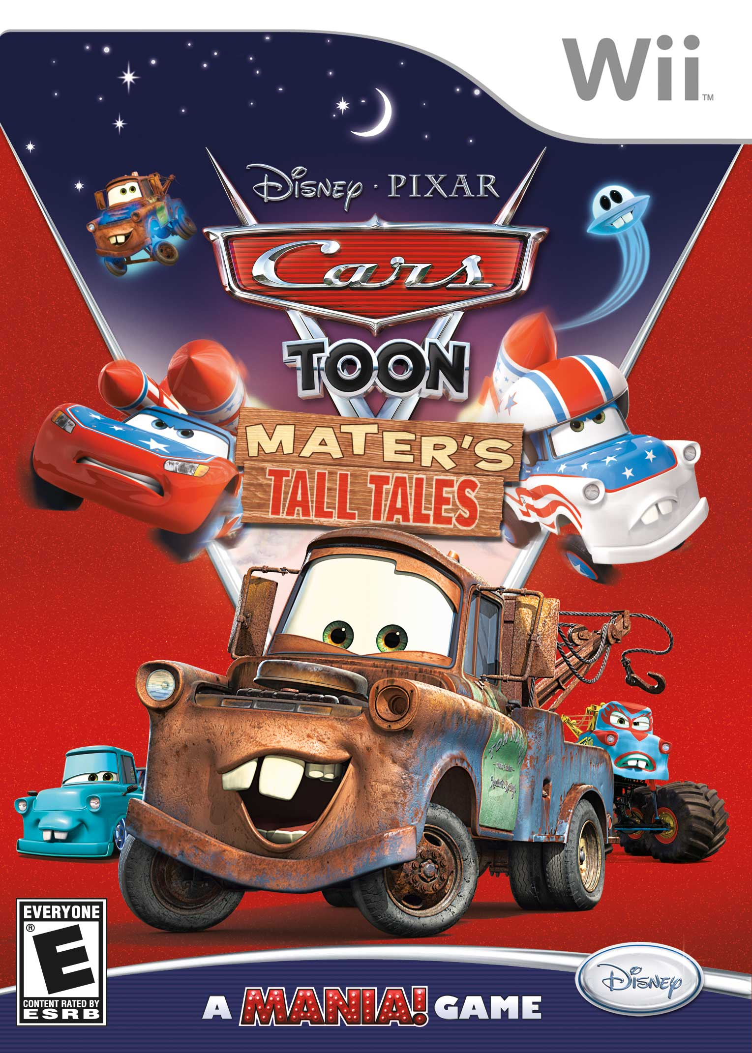 Cars Toon Mater S Tall Tales Nintendo Wii Game