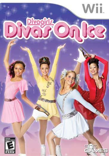 Wii U Games For Girls : Diva girls divas on ice nintendo wii game