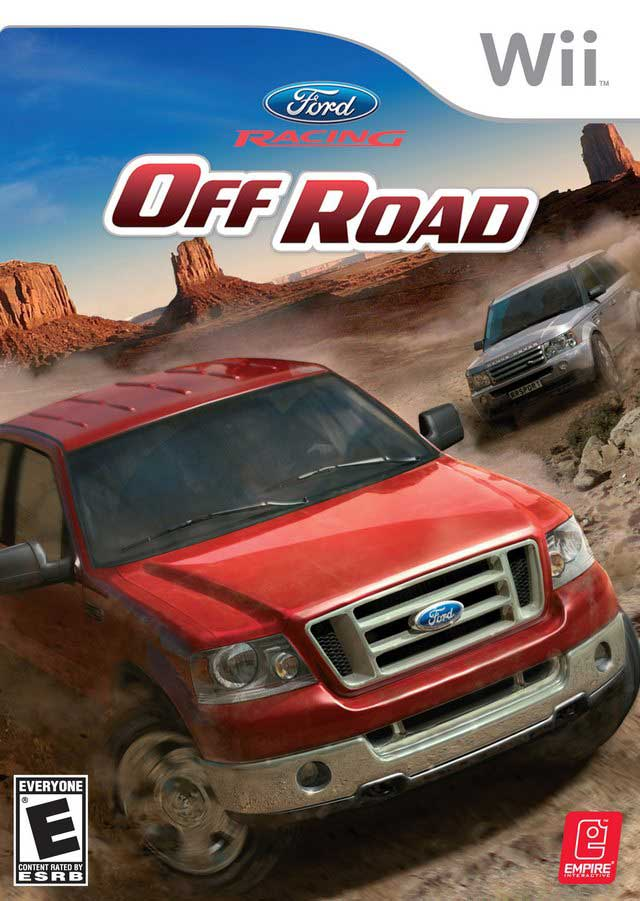 Ford Racing Off Road Nintendo Wii Game
