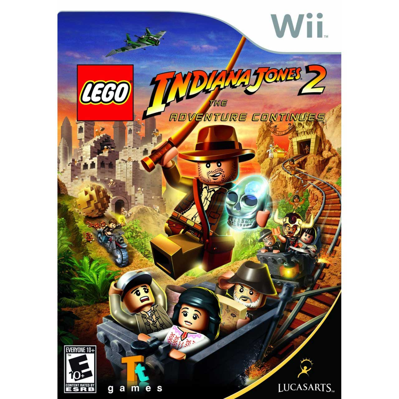 U With Wii Games 2 : Lego indiana jones the adventure continues nintendo wii