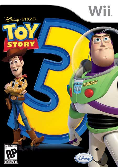 Toy Story 3 The Video Game Nintendo Wii Game