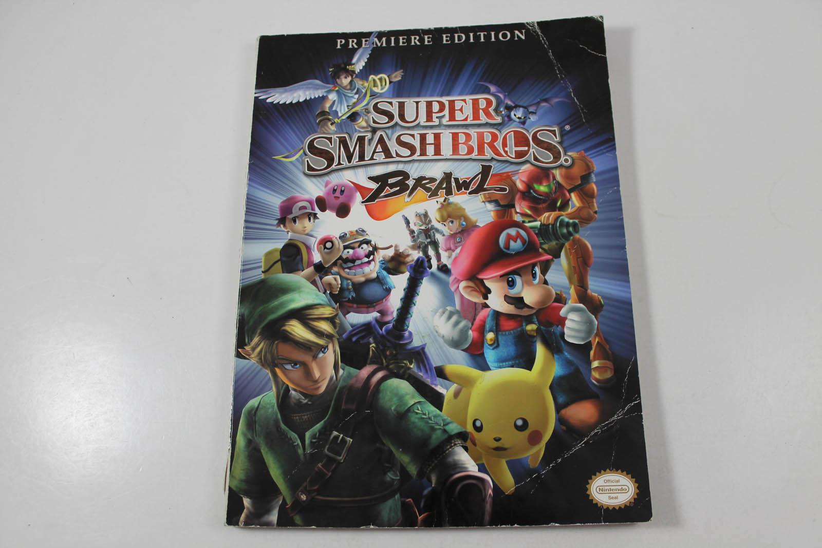 super smash bros brawl premiere edition strategy guide prima games