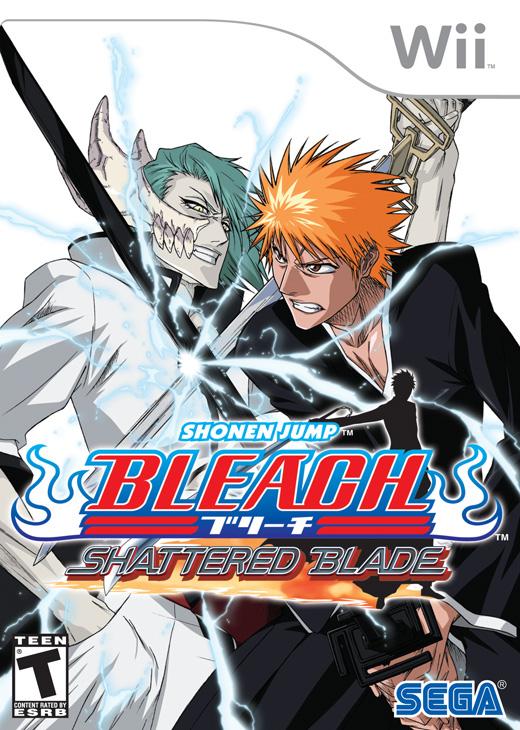 Bleach Shattered Blade Nintendo Wii Game