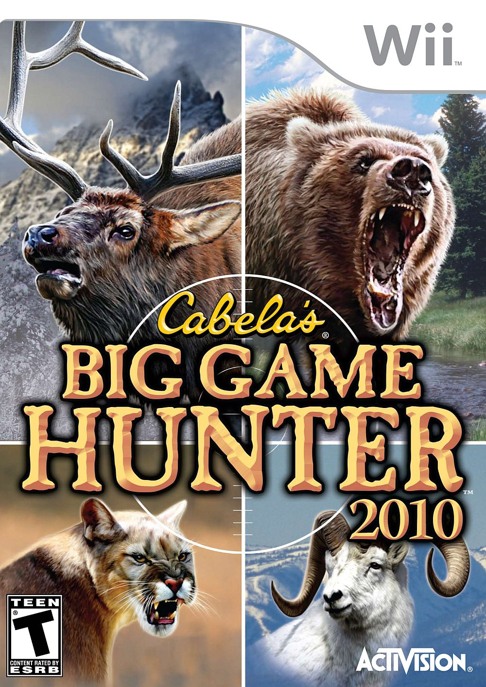 Cabela's Big Game Hunter 2010 Nintendo WII Game