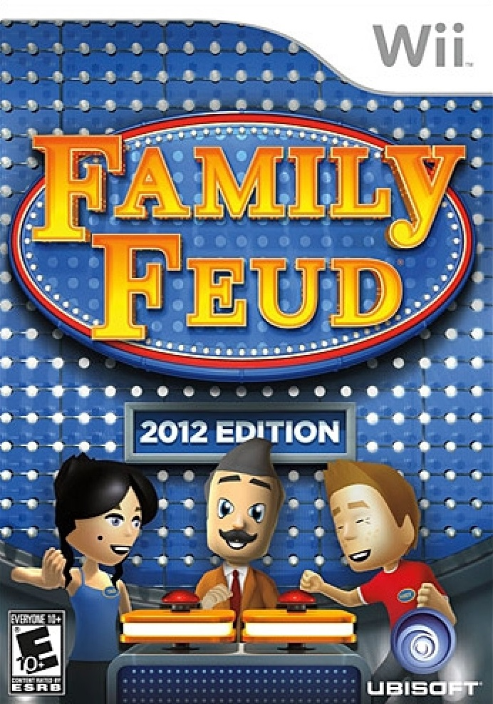Wii Games List 2012 : Family feud nintendo wii game