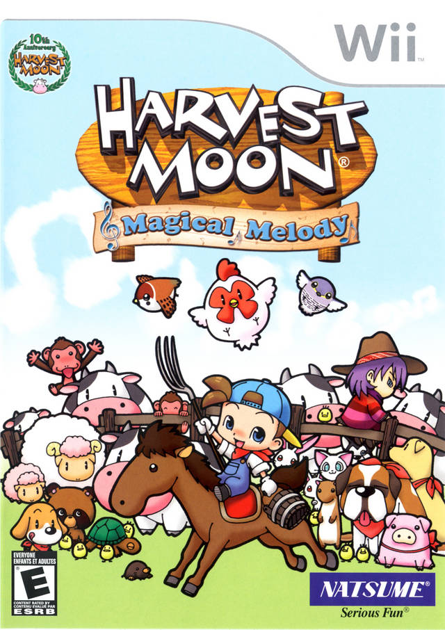 harvest moon magical melody gamecube