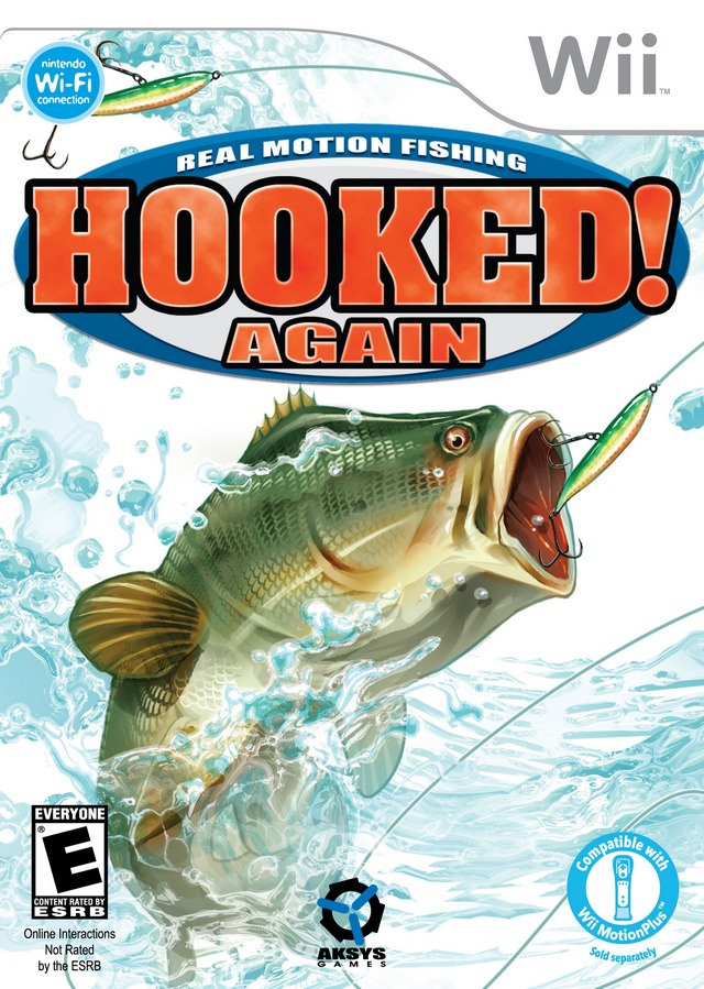 Hooked again real motion fishing for Wii fishing games