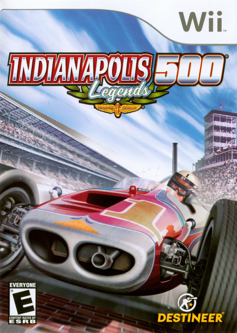 Indianapolis 500 Legends Nintendo Wii Game