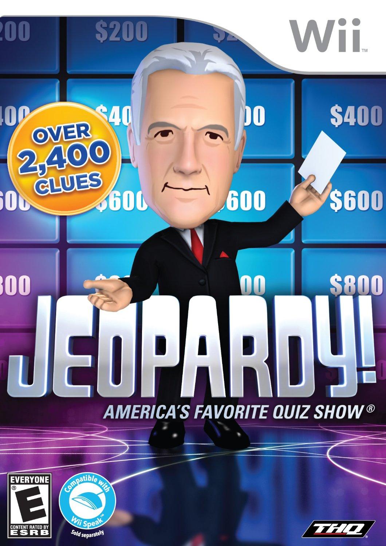 Jeopardy Nintendo WII Game