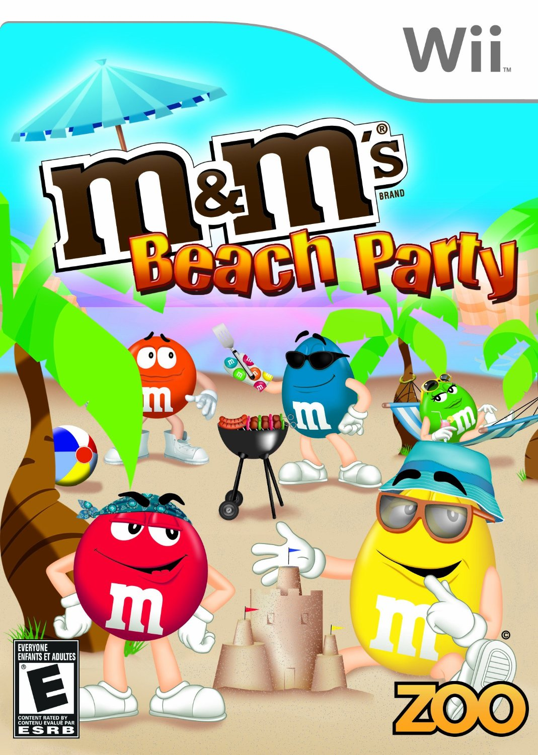 M Amp M S Beach Party Nintendo Wii Game