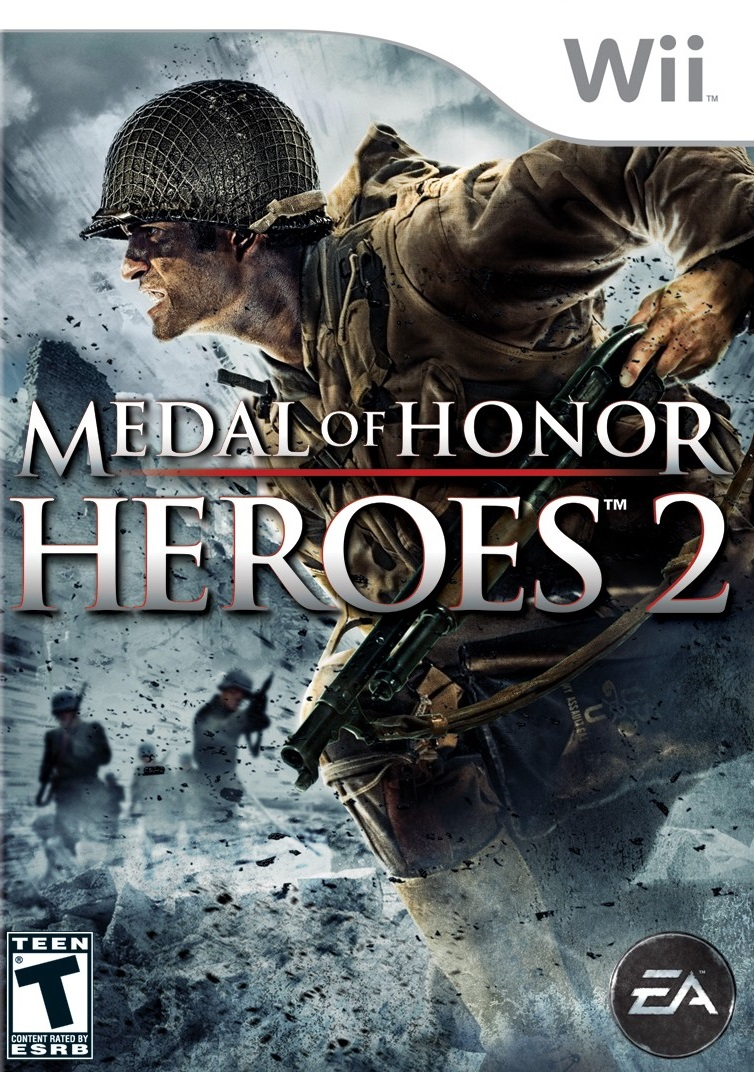 medal of honor heroes 2 nintendo wii game