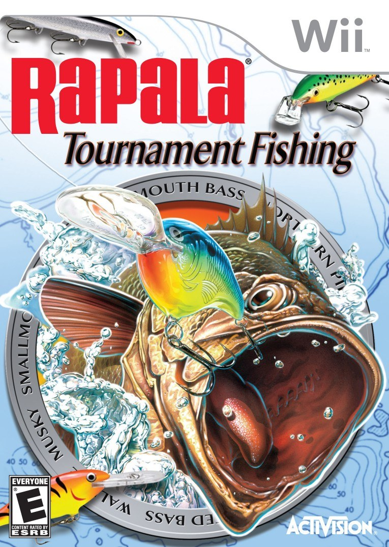 Rapala tournament fishing nintendo wii game for Wii fishing games