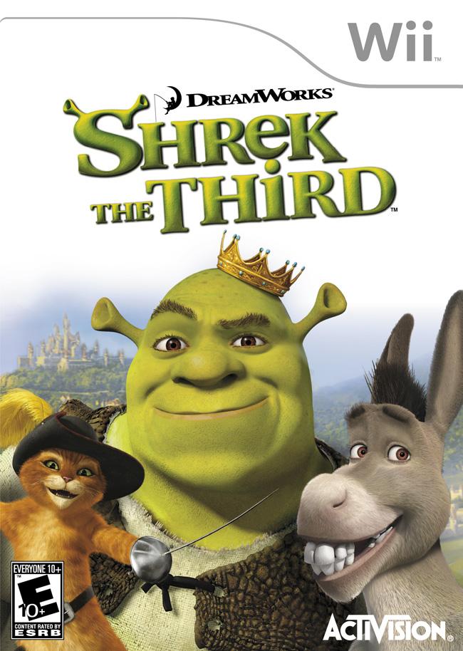 Shrek The Third Wii Iso