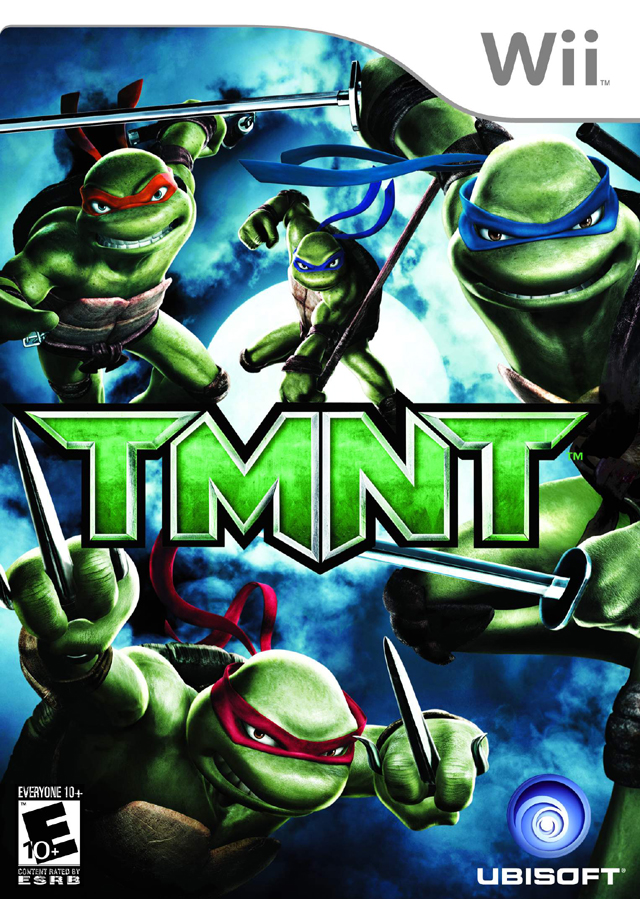 Nickelodeon Teenage Mutant Ninja Turtles (Wii) Part 1 Roof ...