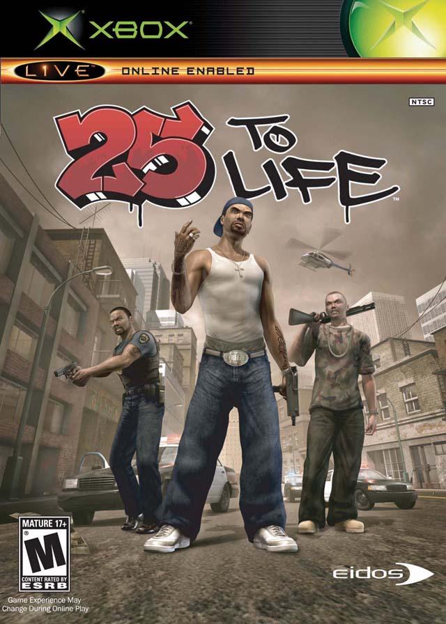 25 To Life Xbox