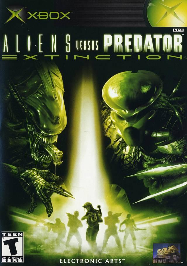 Aliens Vs Predator Extinction Xbox