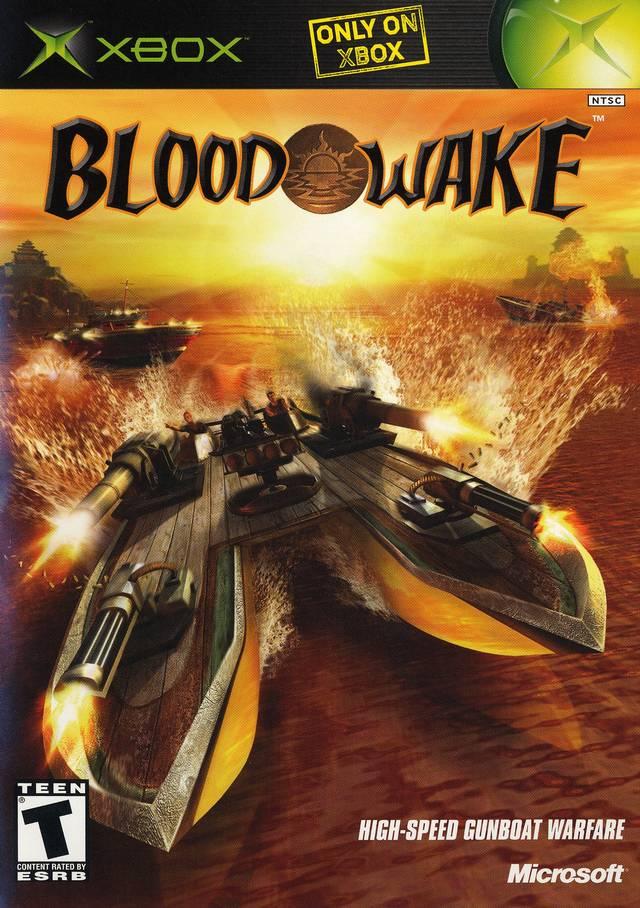 Original Xbox Game Ship : Blood wake xbox