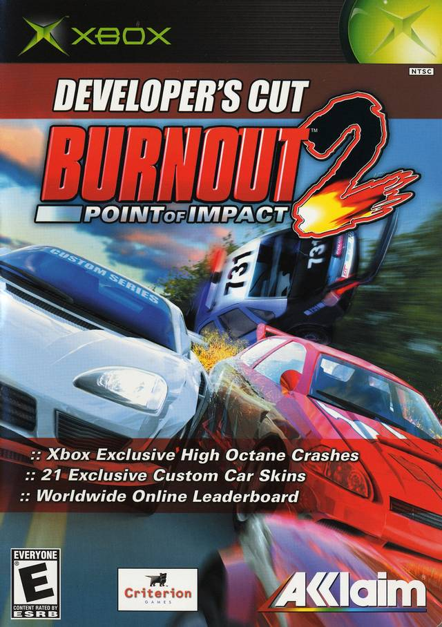 burnout 2 point of impact xbox