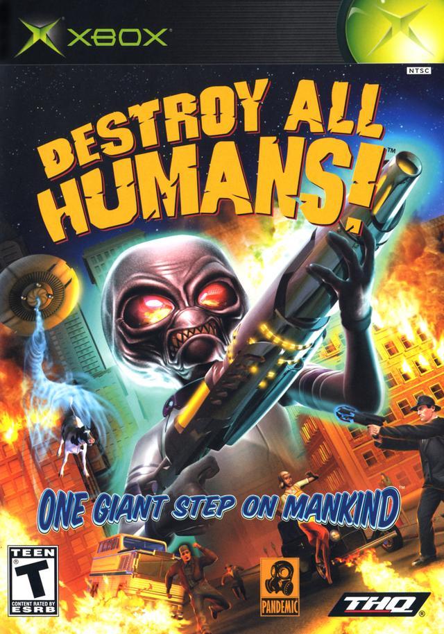 All Original Xbox Games : Destroy all humans xbox