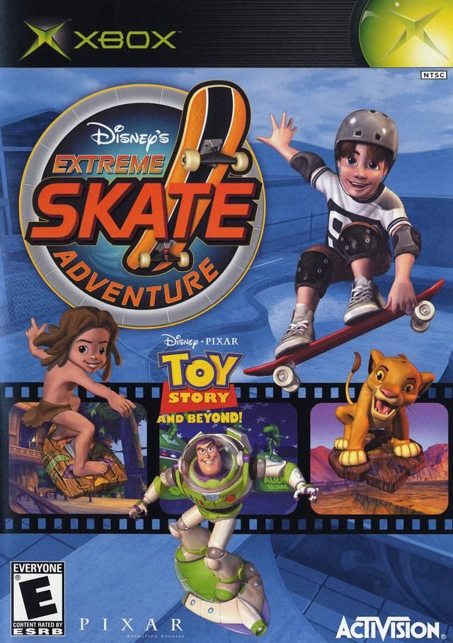 Disney S Extreme Skate Adventure Xbox