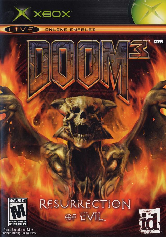 doom 3 resurrection of evil xbox