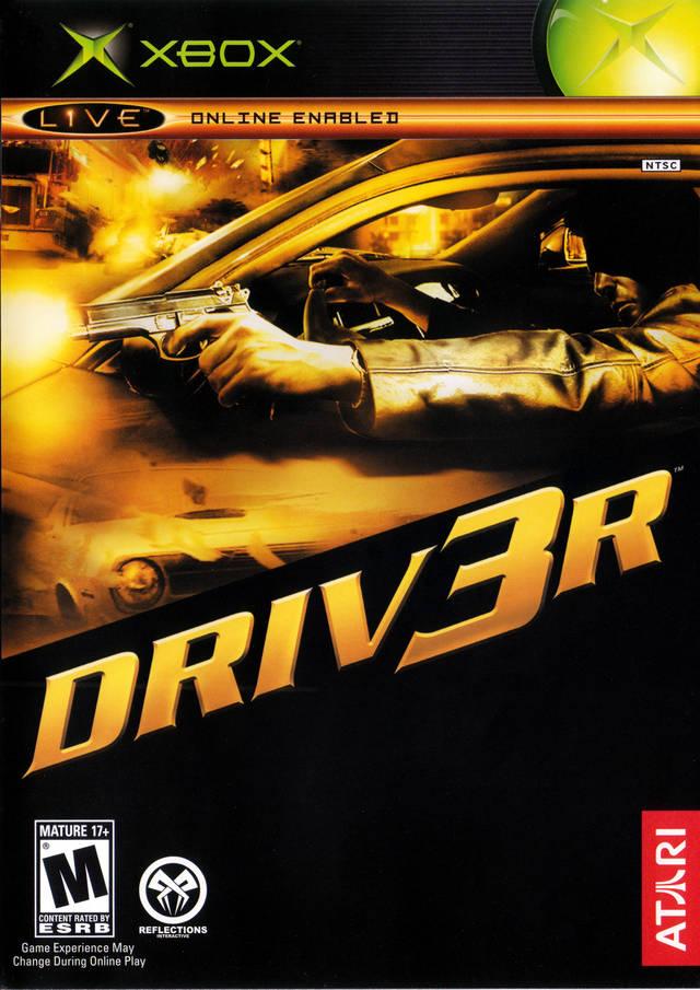 Driv3r Driver 3 Xbox