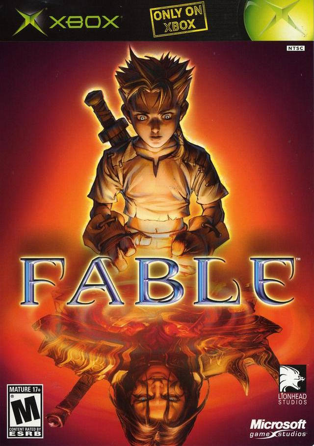 Fable Original Xbox Game