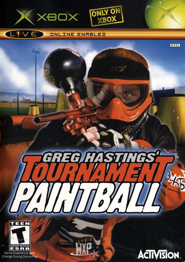Paintball Games For Xbox 1 : Greg hastings tournament paintball xbox