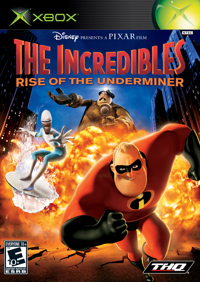 Incredibles Rise Of The Underminer Xbox