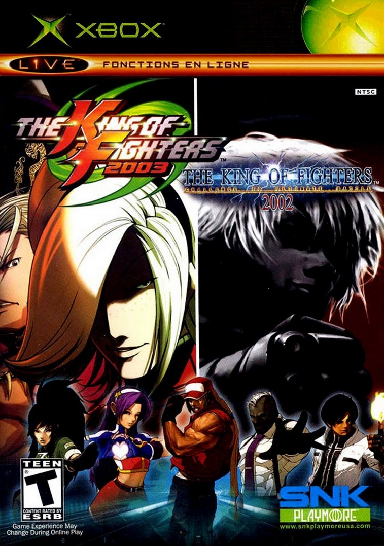 King Of Fighters 2002 2003 Xbox