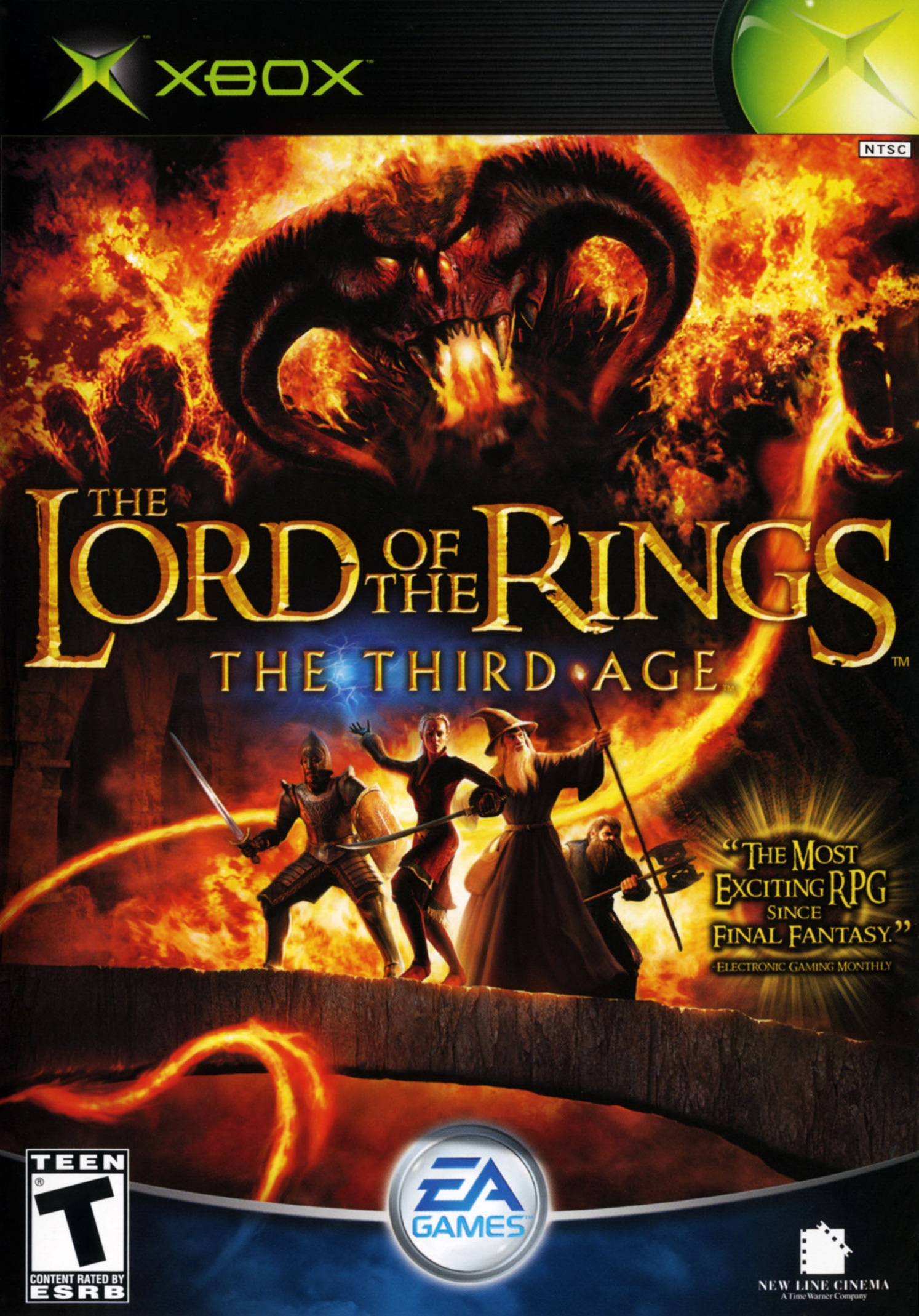 Lord Of The Rings Game The Third Age