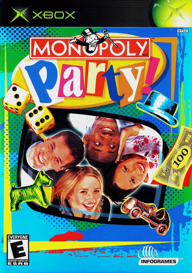 Monopoly Game For Xbox 1 : Monopoly party xbox