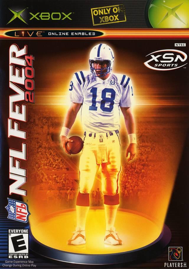 nfl fever 2004 xbox