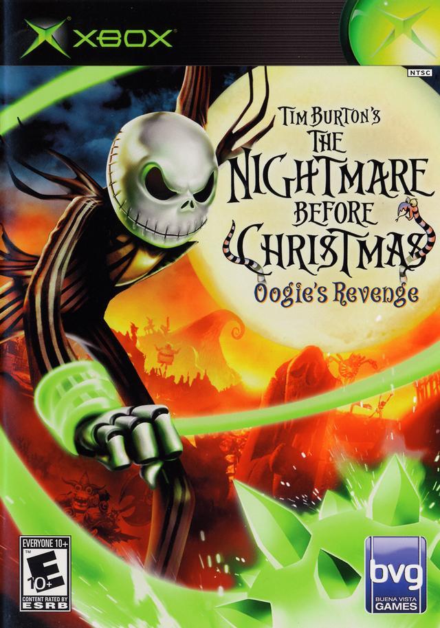 nightmare before christmas oogies revenge xbox - The Nightmare Before Christmas Games