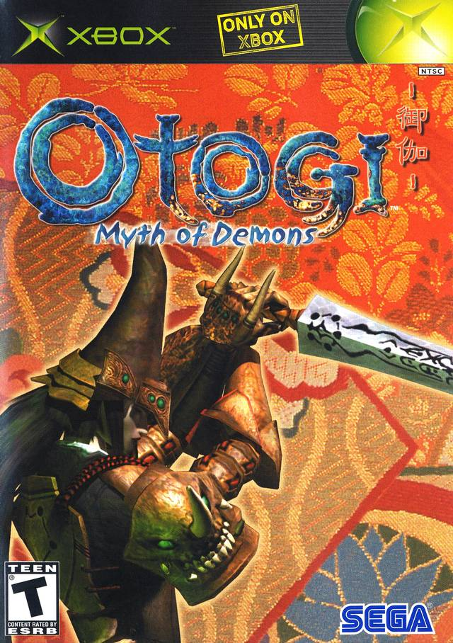 Original Xbox Game Ship : Otogi myth of demons xbox