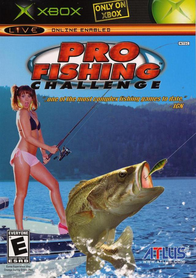 Pro fishing challenge xbox for Xbox fishing games