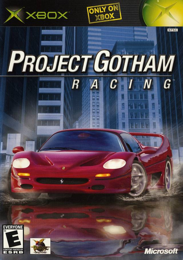 Old Xbox Games Racing Games : Project gotham racing xbox