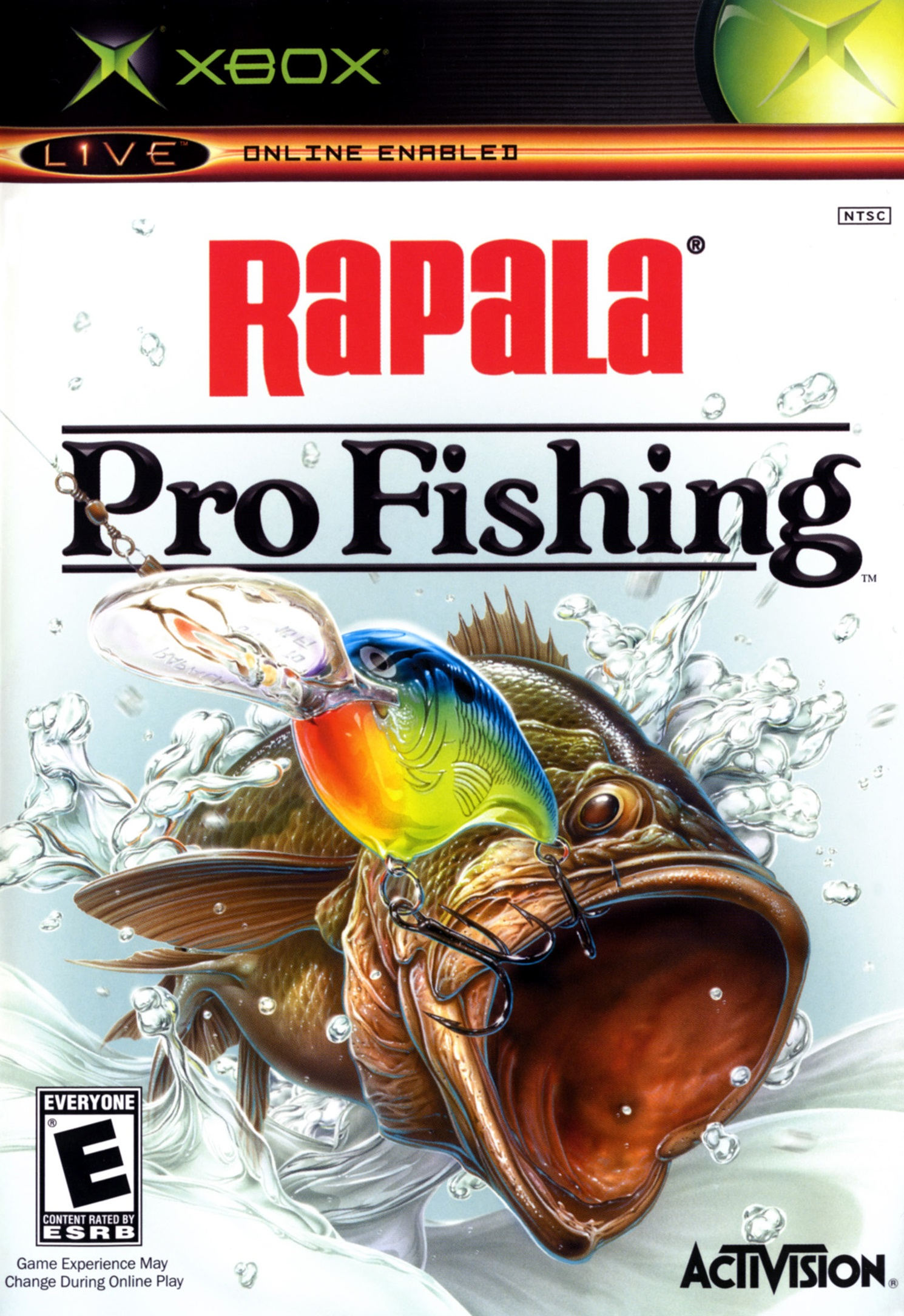 Rapala pro fishing xbox for Xbox fishing games