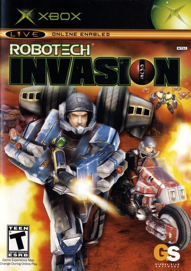 Robotech Invasion Xbox