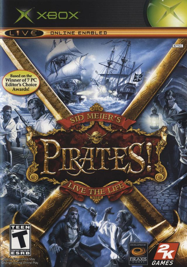 Sid Meiers Pirates Live The Life Xbox